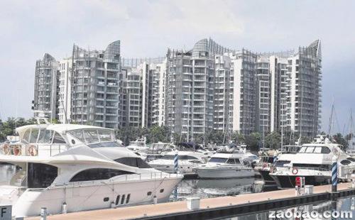 投资移民减少,最受影响的是海外富裕人士偏好的豪华住宅市场。(新加坡《联合早报》档案照片)
