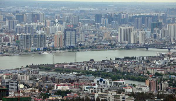 汉江明珠放异彩——襄阳市打造汉江流域中心城市速记