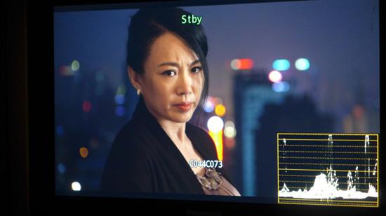 马丽在十几层楼高拍摄哭戏