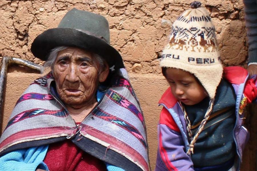 秘鲁116岁老太菲洛敏娜·泰贝·孟多萨网页截图