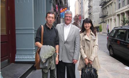 鲲鹏移民董事会会晤绿色环保项目负责人