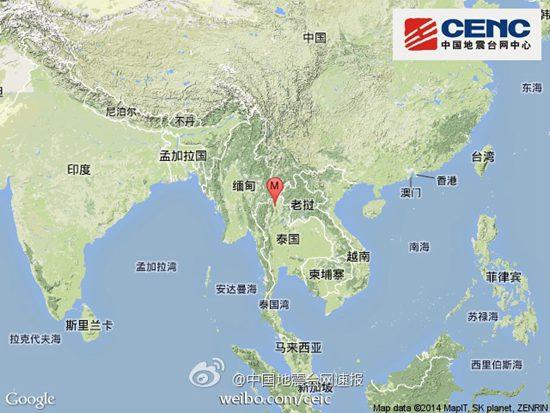 泰国发生6.4级地震