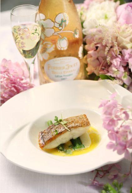 皇家海鲷,地中海式烩蔬,蜜渍柠檬,姜