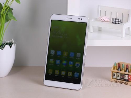 华为荣耀x1正面配备有一块7英寸ips显示屏