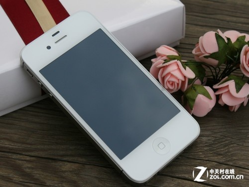 iPhone 4S 白色 正面  图