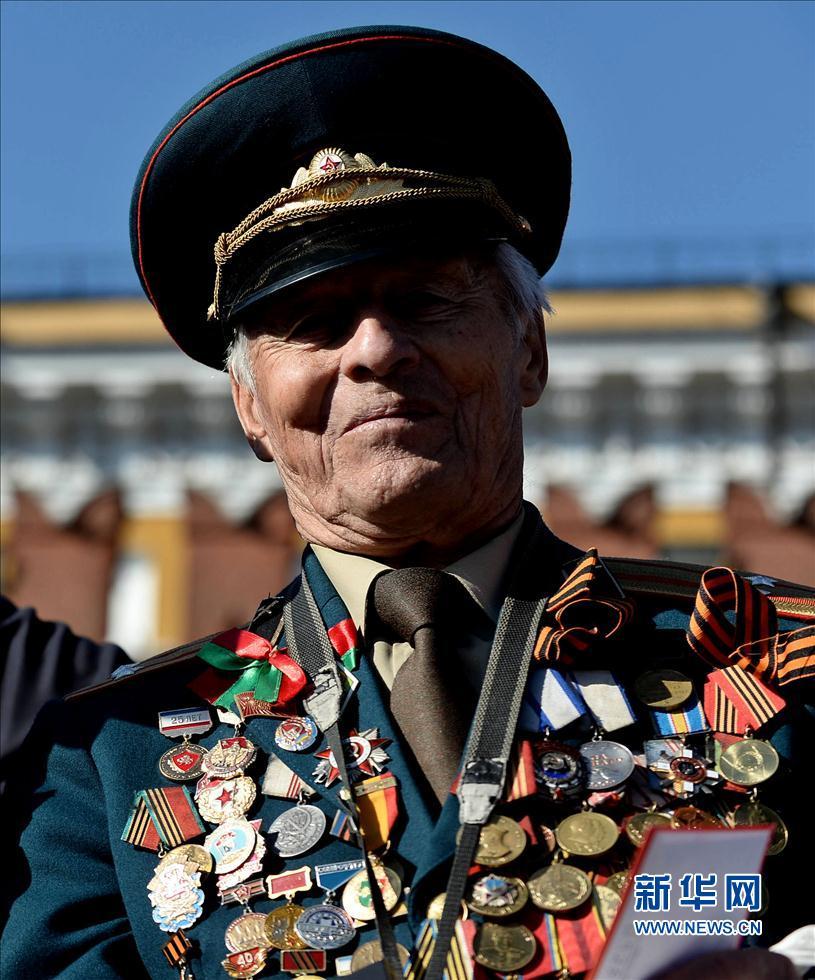 戴天放/5月9日,在莫斯科红场,俄罗斯举行阅兵纪念卫国战争胜利69周年...