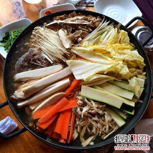 火锅菜简易手绘