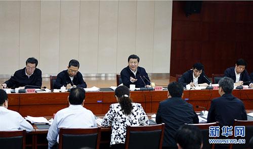 习近平指导兰考县委常委班子专题民主生活会
