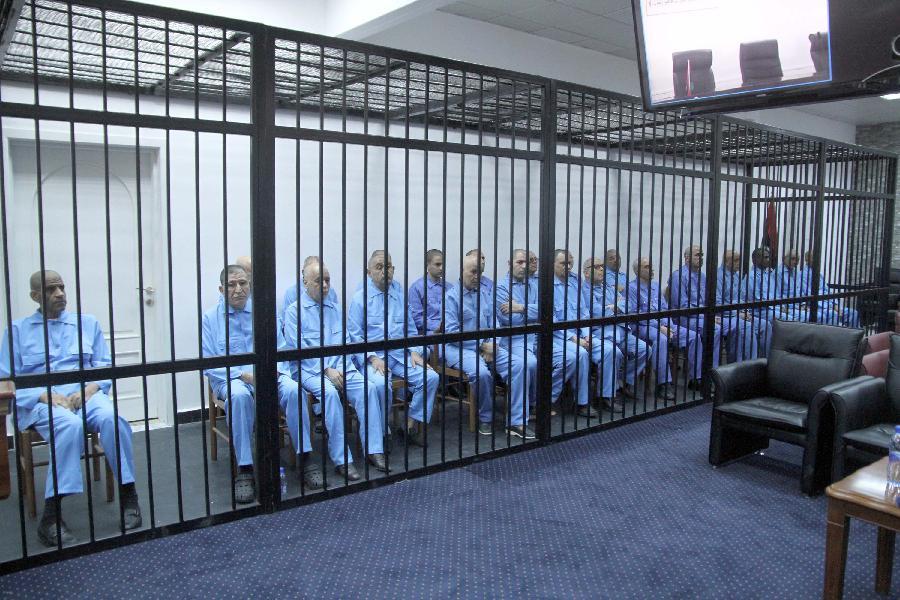 卡扎菲政权高官再次接受庭审