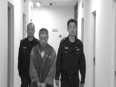 向南夫被警方抓获。