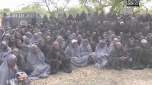 视频中共出现了136名被绑女生。