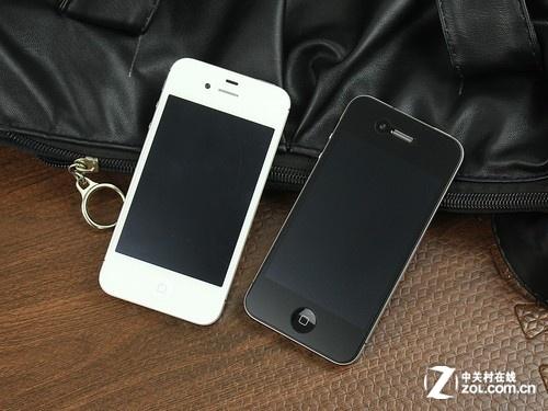 iPhone 4S 多彩色 正面图