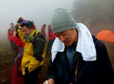 矢野浩二参加探险节目《秘境》的录制