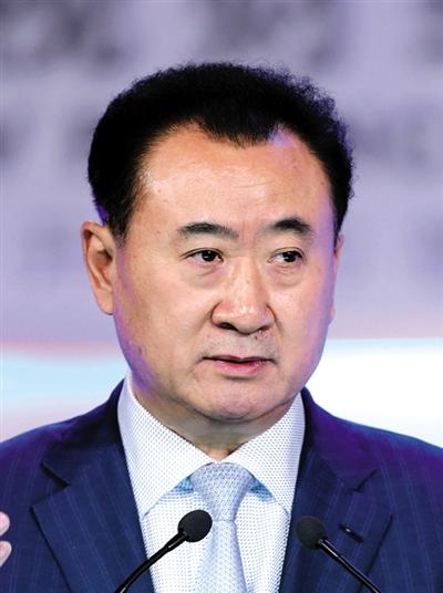 王健林 不指望企业家族化图片