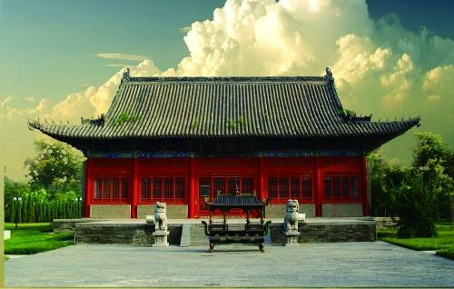 位于洛阳的定鼎堂,在周公庙现存古建筑中年代最为久远 洛阳周公庙博物馆供图