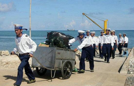 菲律宾称中国正在赤瓜礁填海造地(5)-搜狐军事