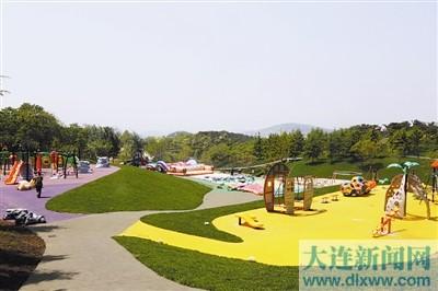 英歌石植物园儿童乐园17日开园(图)