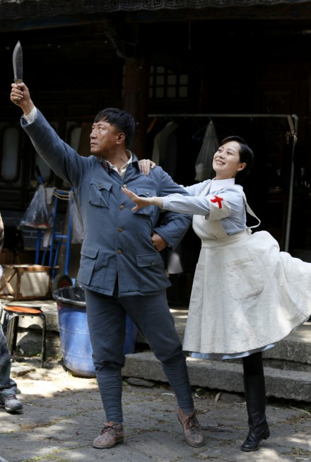 海清孙红蕾跳舞