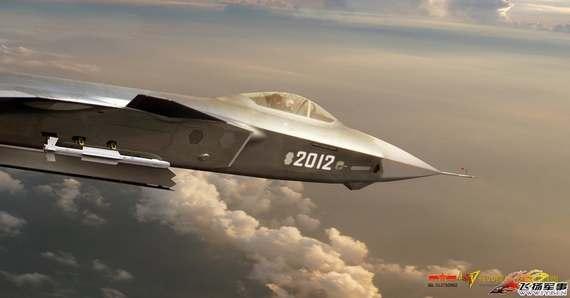 原文配图:新版歼-20挂弹飞行效果图曝光。