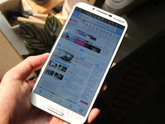 酷派将推国产最高端4G手机:超华为P7