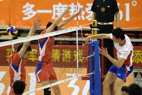 2014全国排球大奖赛 赵艺扣球