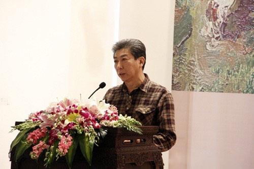 山东当代油画院院长刘青砚先生开幕讲话