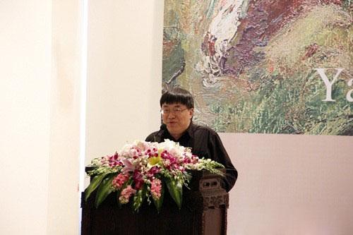 艺术家艾轩开幕讲话