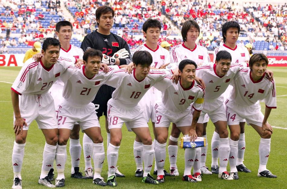 2002年世界杯大名单_组图:中国队的世界杯回忆 最强国足02韩日难求一胜-搜狐滚动