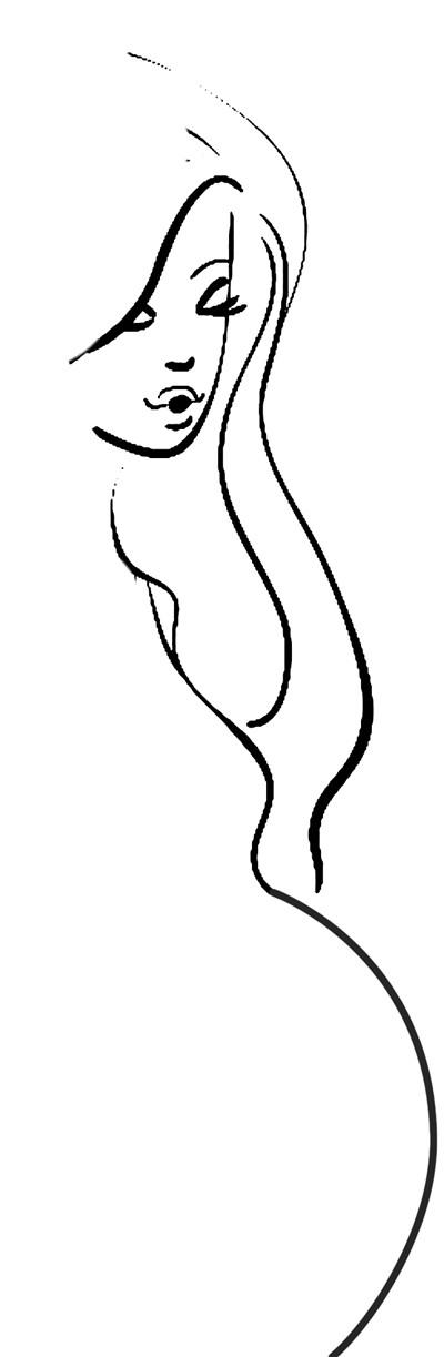 简笔画 手绘 线稿 400_1223 竖版 竖屏