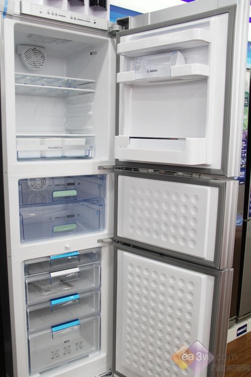 时尚生活没它不行 超炫三门冰箱机型推荐