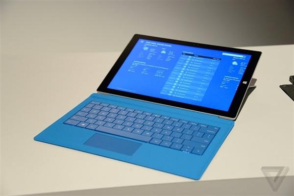 史上最薄Win8.1平板:Surface Pro 3抢鲜看