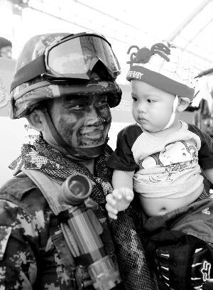 泰国士兵有良好的亲民形象