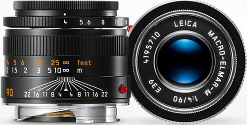 徕卡发布 MacroElmar-M90mmf/4微距镜头