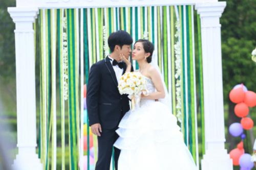 林申王子文《青春无季》婚礼热吻