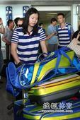 图文:国羽结束尤伯杯征程抵京 一姐李雪芮