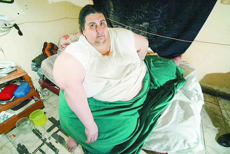 世界上最胖的人_2007年《吉尼斯世界纪录大全》中记载的世界最胖男子,墨西哥人