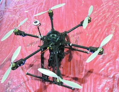 用于航拍的六翼飞行器