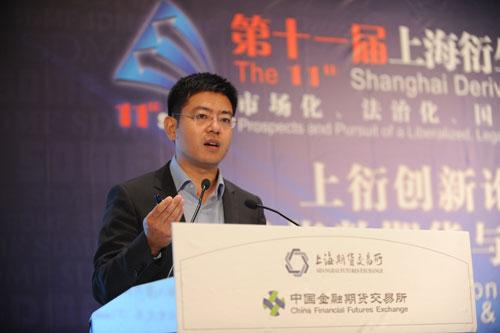 澳帝桦(Optiver) (上海)商贸有限公司总经理 吕常恺
