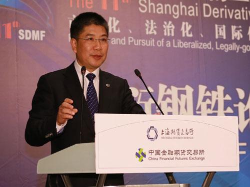上海期货交易所副总经理叶春和