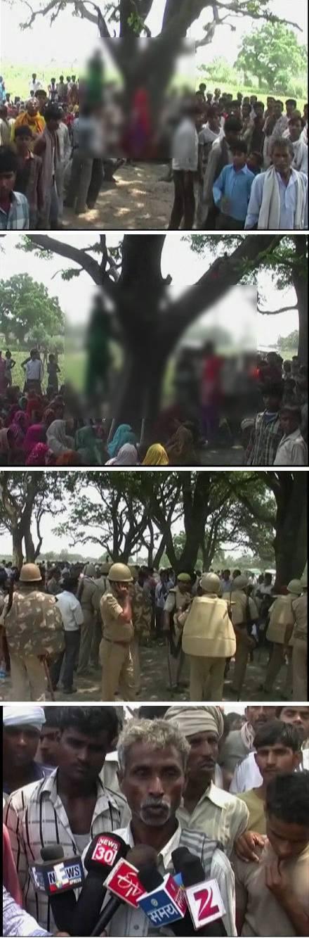 轮奸淫荡女子的第一次_两名印度少女遭轮奸后被吊死 一涉案男子被捕