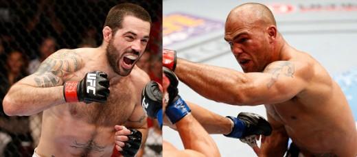马特-布朗VS罗比-劳勒的次中量级大战将领衔UFC On FOX 12