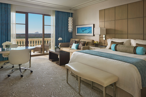 奥兰多迪士尼乐园四季度假酒店乐园景观客房