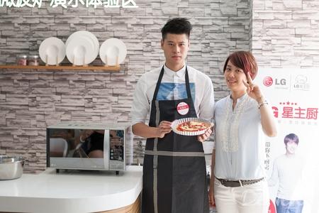 变身星主厨 体验LG光波变频微波炉的便捷与智能