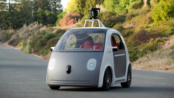谷歌将小批量生产无人驾驶汽车:无方向盘踏板(图)