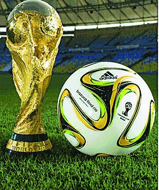 巴西世界杯 决赛用球公布(图)