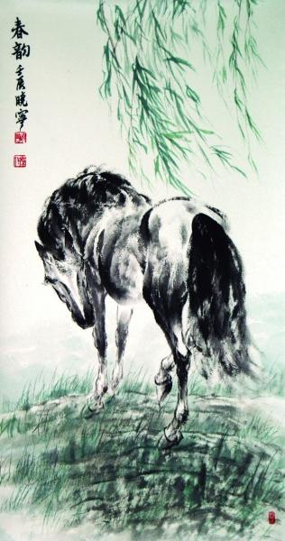 该画集收录有雷晓宁创作的中国画大写意,工笔画,以及雕塑,素描,写生等
