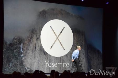 苹果发布Yosemite系统:界面趋近iOS 秋季上市