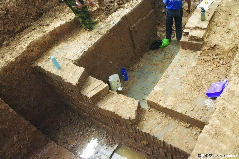 幕府东路遗址确定为东晋墓葬