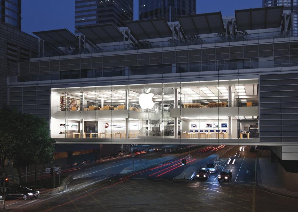 苹果香港_全球设计最美的11家苹果商店(组图)