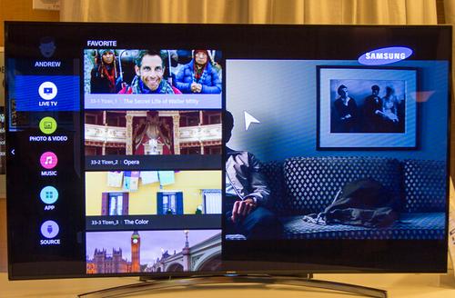 展开疯狂推广 三星推首款Tizen智能电视